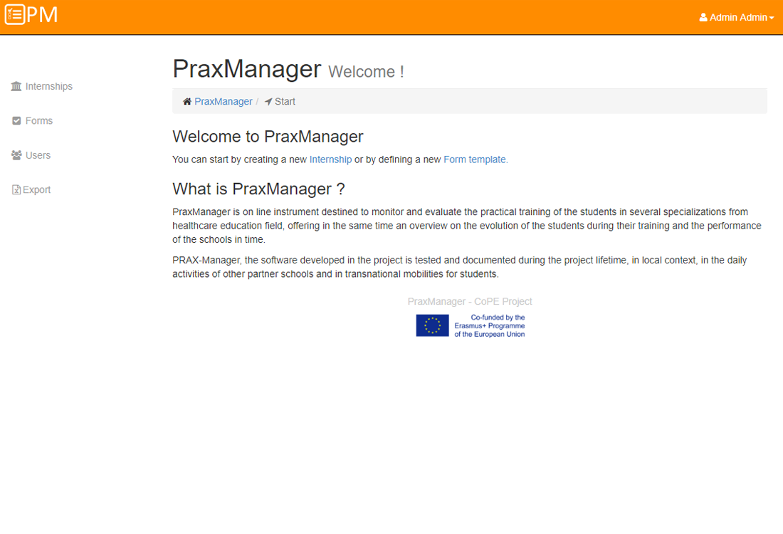 Prax Manager
